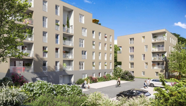 Résidence à Gleize A 15 min de la gare de Villefranche-Sur-Saône, Balcons, terrasses et loggias, Grand choix de surfaces familiales,