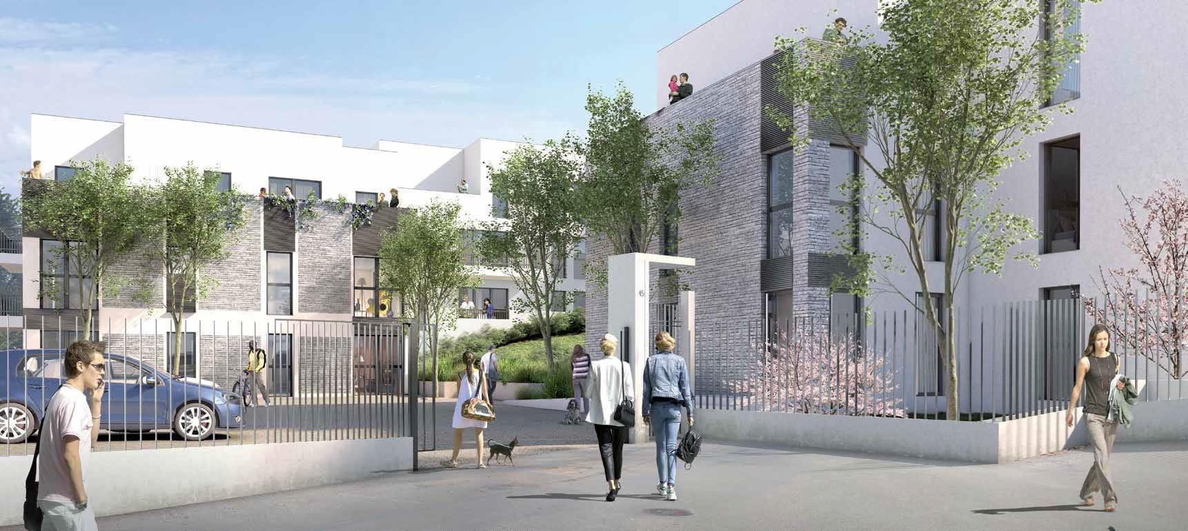 Résidence à Irigny Ecrin de verdure, Future connexion métro B, Toutes commodités,