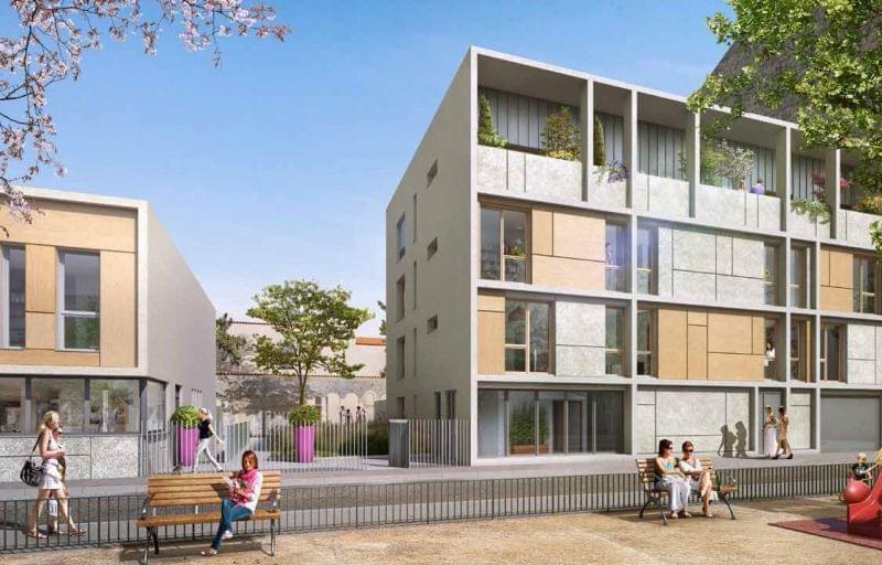 appartements neufs Le Dôme investissement loi Pinel Lyon 1