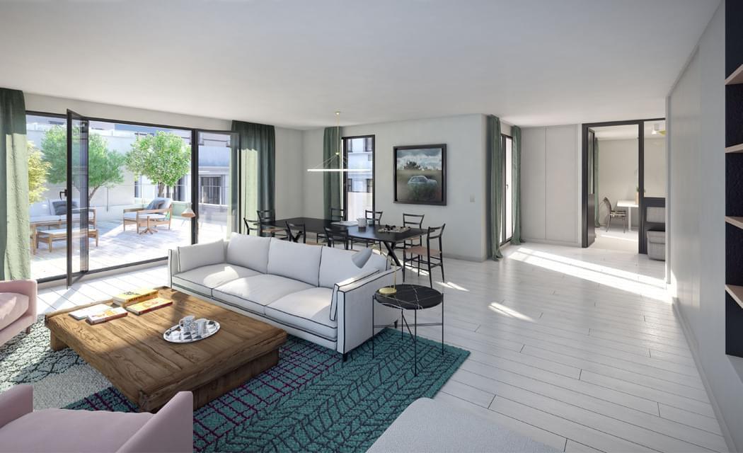 Immobilier de prestige 31 for Appartement avec piscine paris