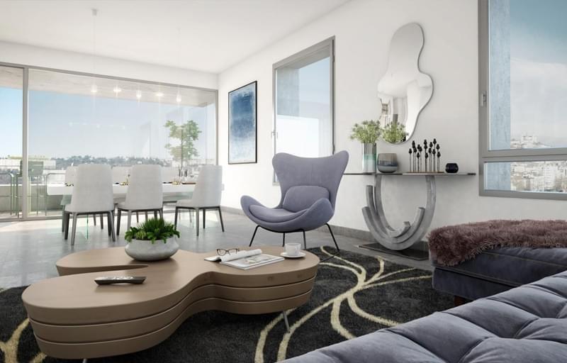 Résidence à Lyon 2 En plein Confluence, Jolie vue pour tous les appartements, Prestations raffinées,