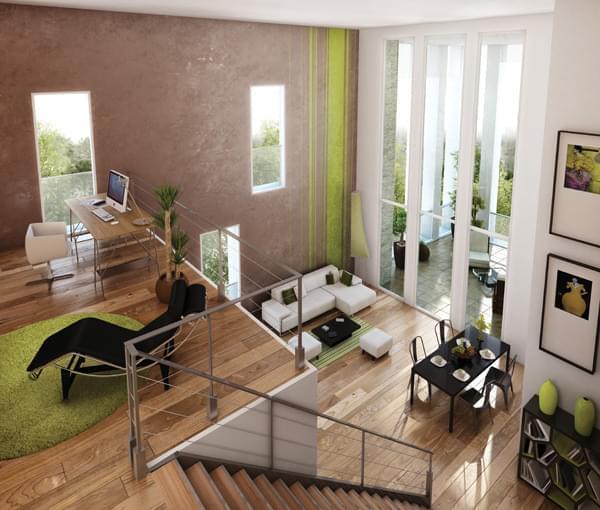 Appartement bbc lyon 2 le k votre appartement neuf for Appartement atypique lyon 2