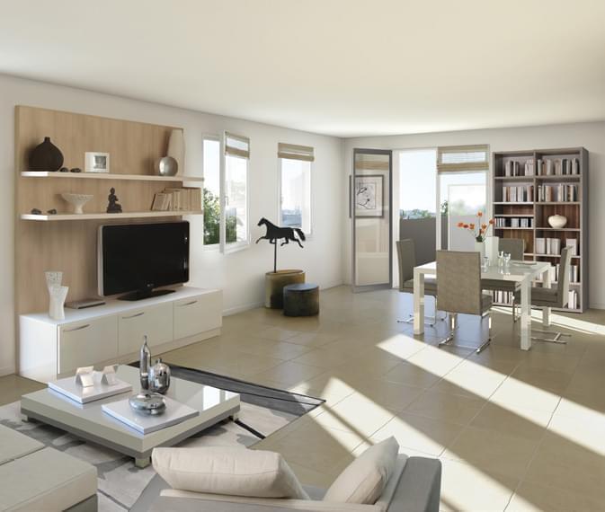 dernier appartement neuf lyon 3 lacassagne proche part. Black Bedroom Furniture Sets. Home Design Ideas