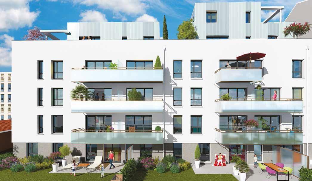 appartement neuf avec terrasse lyon 3 quartier monplaisir montchat avec notre programme happy 3 me. Black Bedroom Furniture Sets. Home Design Ideas