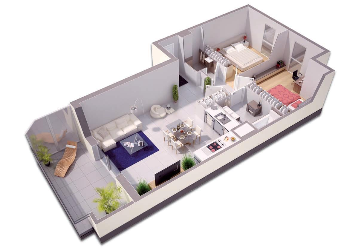 Programme immobilier neuf lyon 3 villa serenia for Programme neuf immobilier