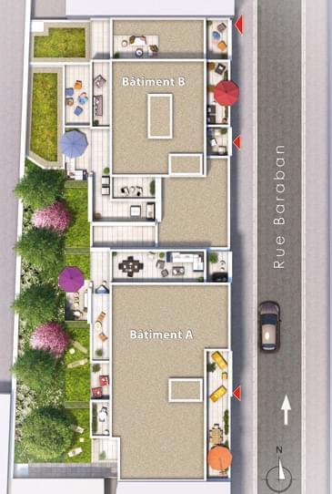 Achat immobilier neuf   livrable 2022 quartier Part Dieu