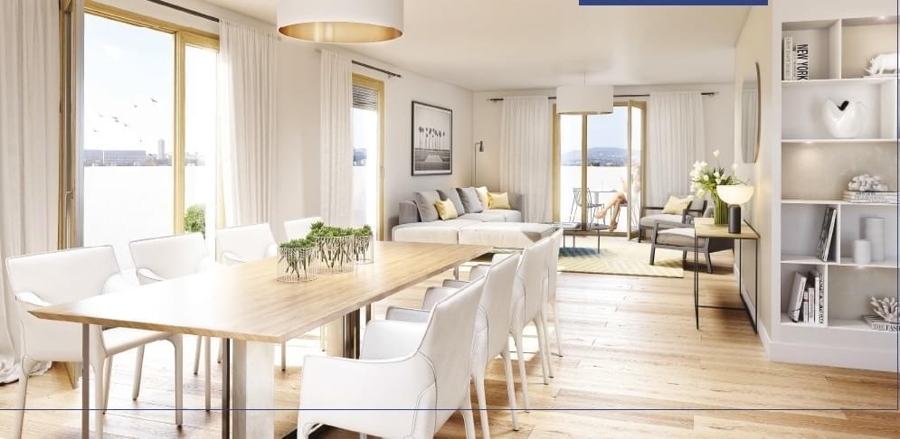Résidence à Lyon 4 En plein cœur de la Croix Rousse, Prestations haut de gamme, Villa sur toits,
