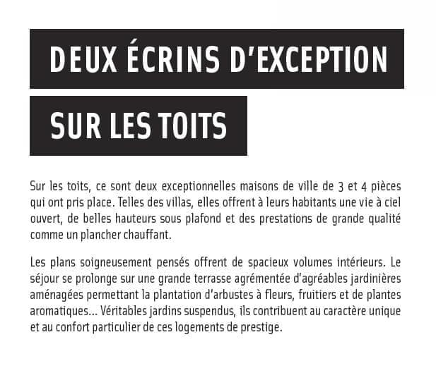 Résidence à Lyon 4 Appartements sur le toit, Emplacement exceptionnel, Métro, commodités,