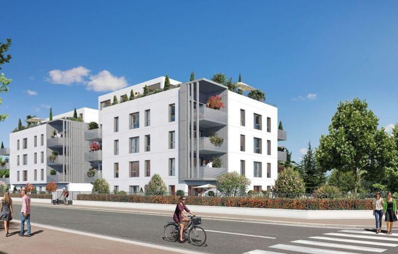 Recherche projet immobilier neuf Lyon 5 Charcot proche Sainte Foy lès Lyon résidence 5 Osmose