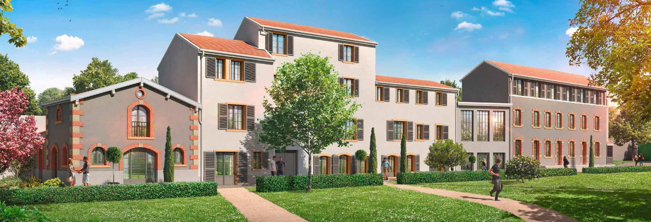 Investissement immobilier d ficit foncier lyon 5 jardins for Appartement atypique lyon 5