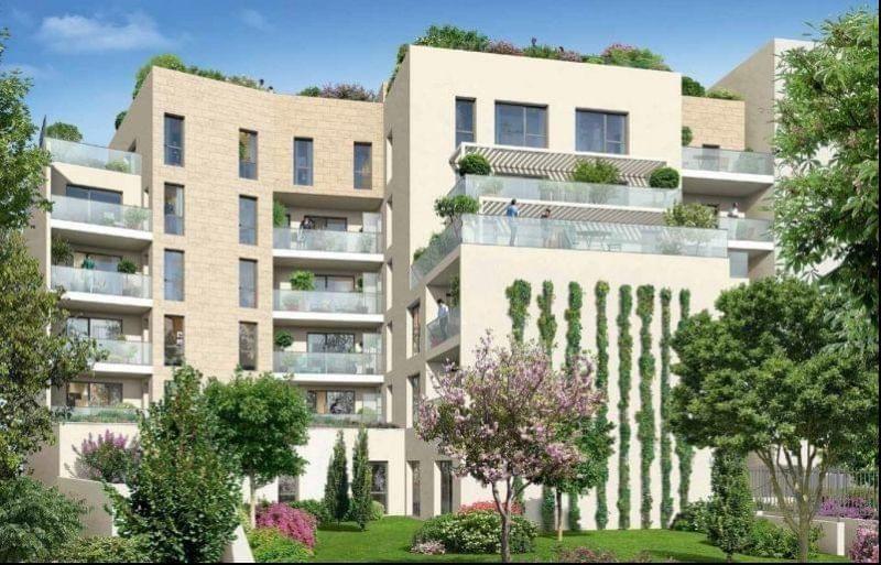 Immobilier de grand standing à Point du Jour, quartier prisé de Lyon 5 (résidence l'Egerie)