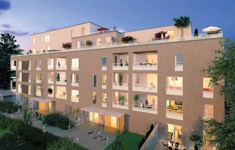Achetez un logement neuf à Lyon 5 Point du jour (69005) : Le 55, un immeuble de standing