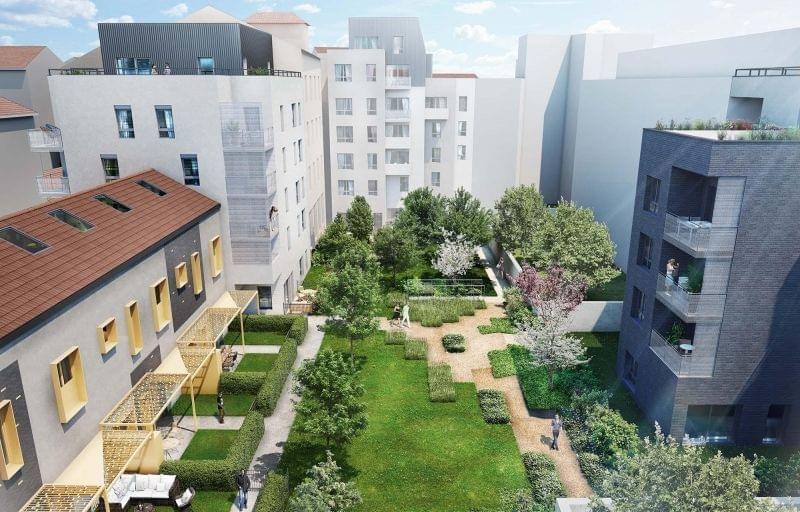 Programme immobilier neuf de prestige à Lyon 6ème avec notre résidence AB6