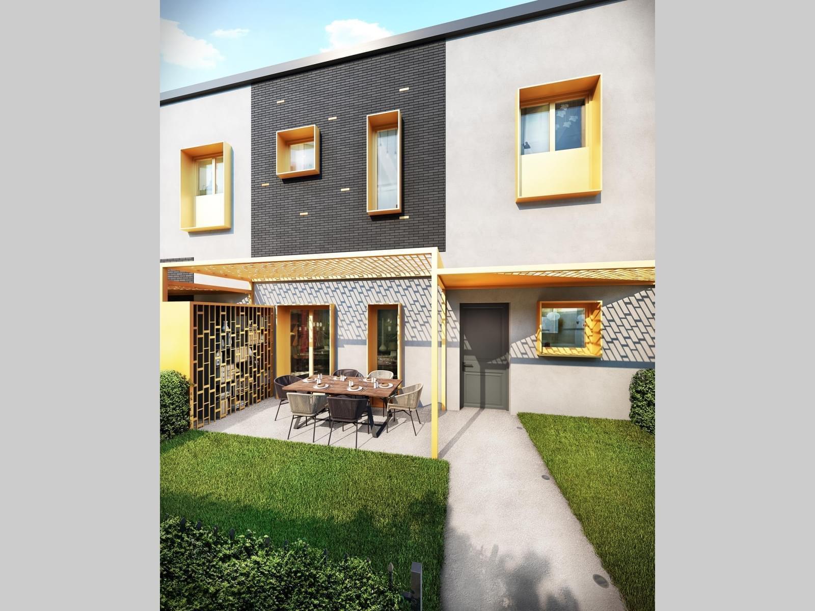Résidence à Lyon 6 Toits terrasse, Ecrin de verdure, Confort et standing,