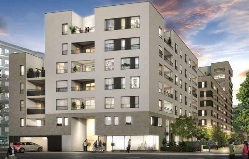 Retours à la vente su programme neuf à Lyon 7 : O2 Parc Blandan, superbes studios Pinel