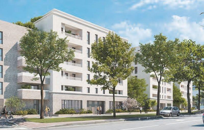 Plus d info sur la résidence Urban 7 à Lyon 7