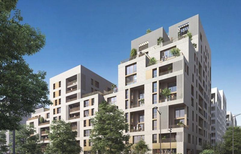 Vente de logements neufs zac des girondins à Lyon 7 avec notre programme BBC Villarborea