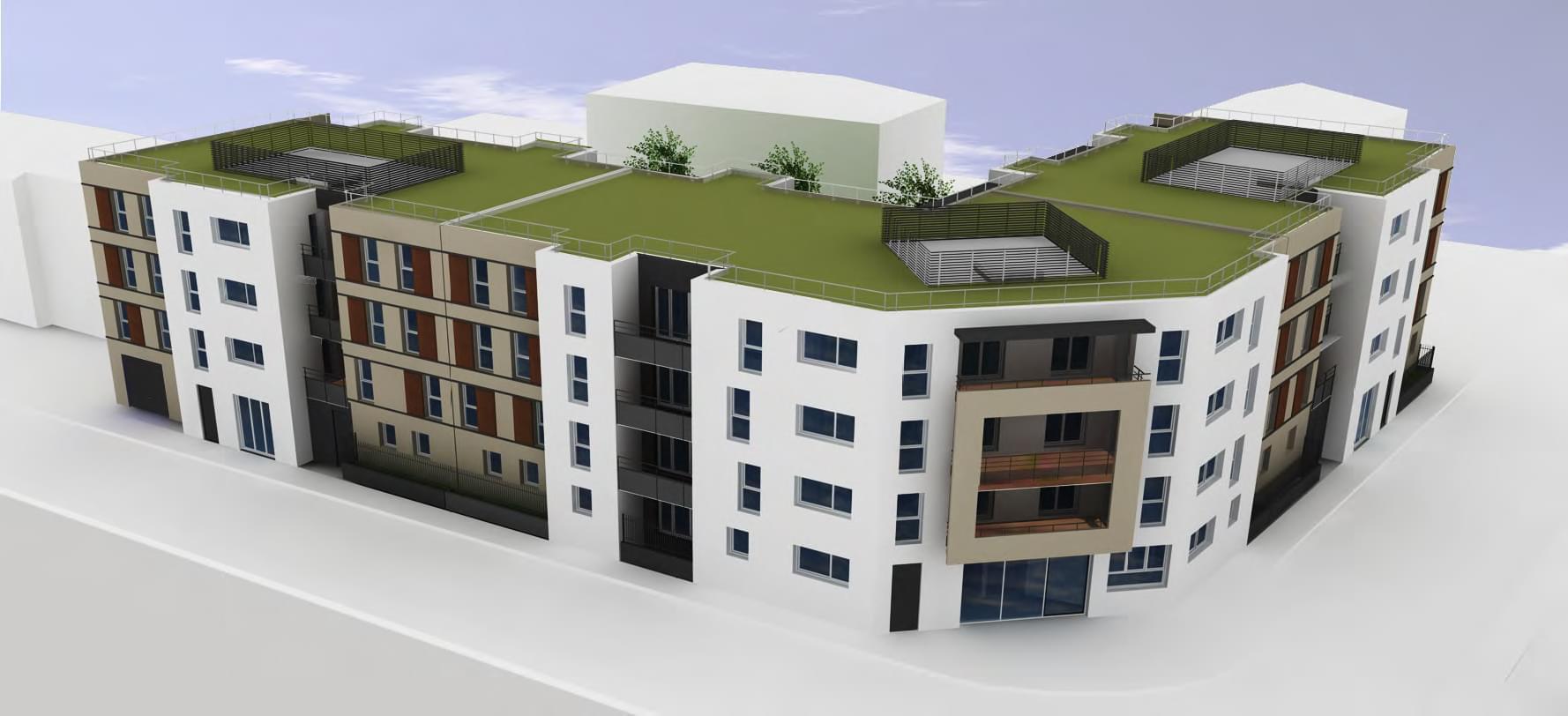 Logement neuf pour investir lyon 8 moulin vent c t for Investir appartement neuf