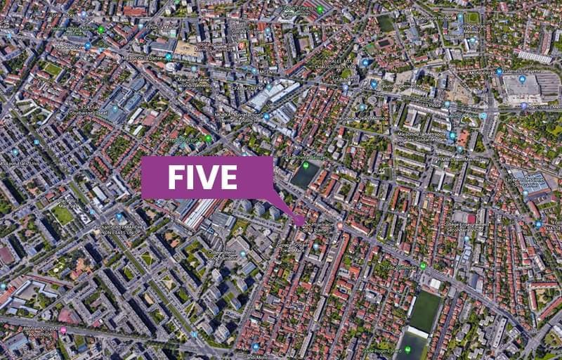 Résidence à Lyon 8 Proche commerces, loisirs, groupes scolaires, Résidence sécurisée, Proche transports en commun, Accessibilité handicapé,