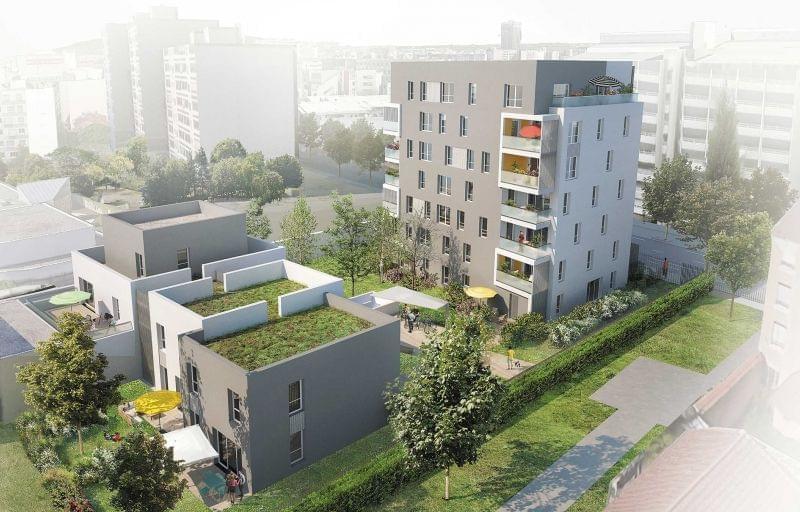 46 appartements neufs BBC à Lyon Mairie du 8ème. Découvrez Le Mellow, notre nouvelle réalisation.