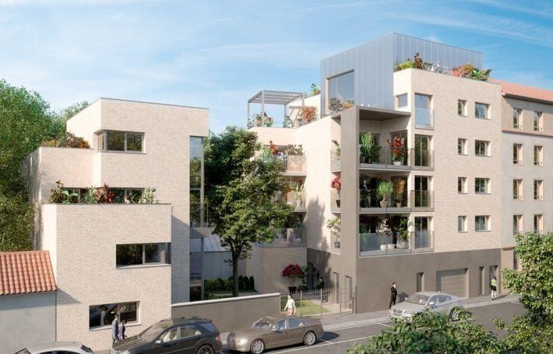 Immobilier neuf Haut de Gamme à Lyon 8 Monplaisir : résidence Le Privilège