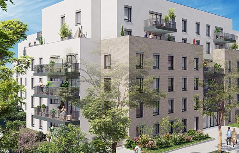 Résidence à Lyon 8 Ouvert à la TVA réduite, Proche bus, métro, Proche Parc de Parilly,
