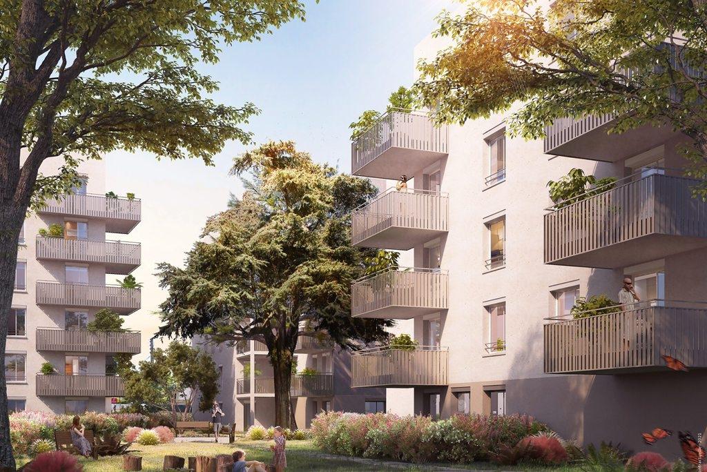 Résidence à Lyon 8 Transports en commun (métro, tramway) accessibles à pieds, Appartements connectés, Espaces verts,