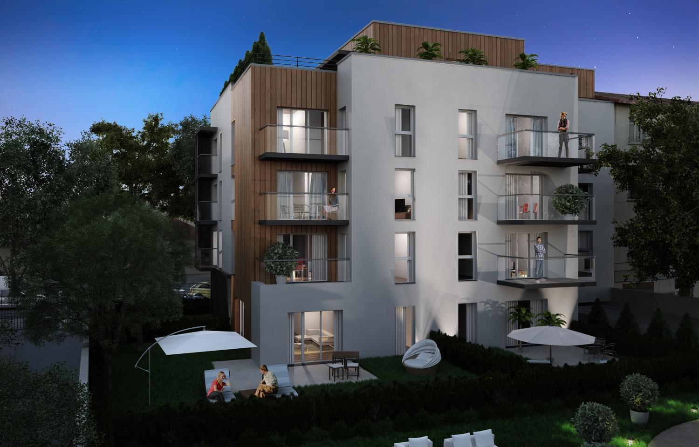 recherche programme immobilier neuf lyon 8 villa lumi re 19 habitations paul santy. Black Bedroom Furniture Sets. Home Design Ideas