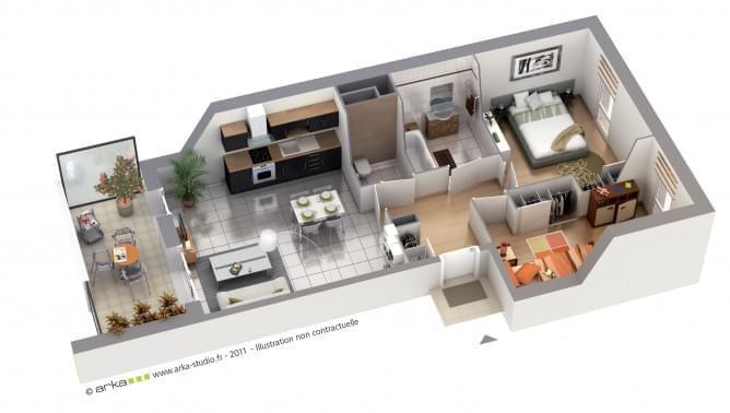 plan appartement neuf lyon