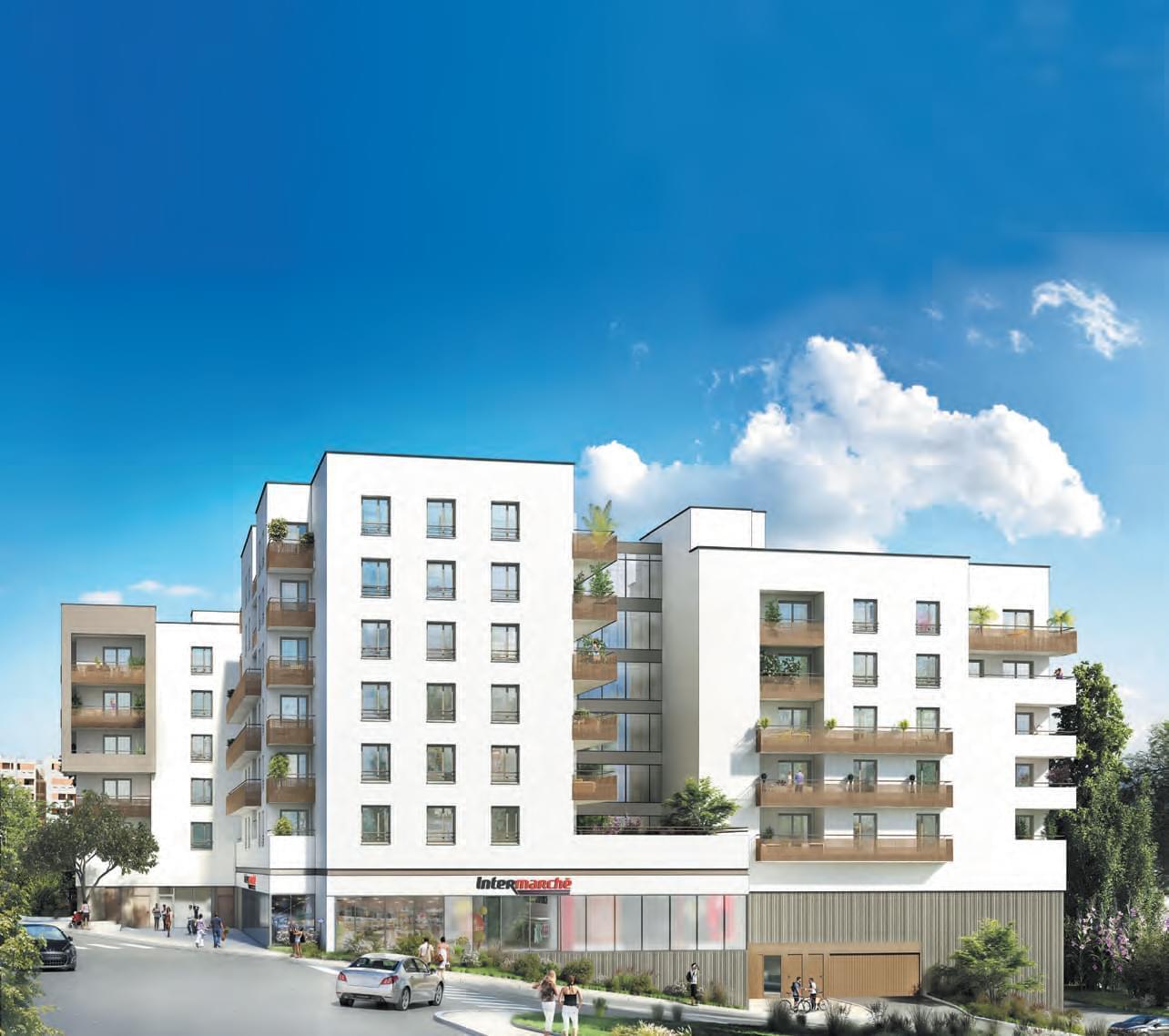 Acheter un appartement neuf pour le louer lyon 9 saint for Location appartement design lyon