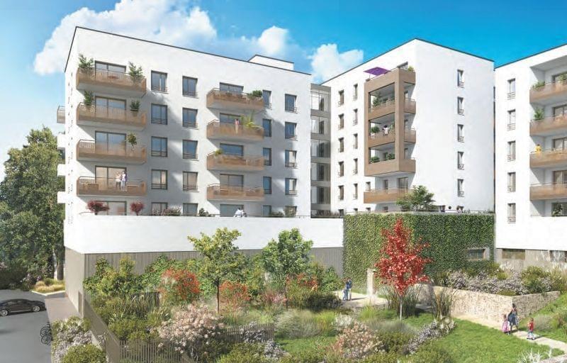 acheter un appartement neuf pour le louer lyon 9 saint rambert r sidence inoui entre ville et. Black Bedroom Furniture Sets. Home Design Ideas