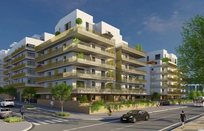 Achat appartement neuf Lyon 9 quais de saone : Le Quai Florentin T2 T3 T4 T5 duplex et toits terrasses