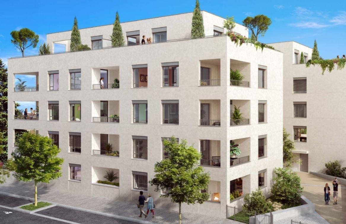 Résidence à Lyon 9 Résidence close et sécurisée, Parkings en sous-sol, Appartements lumineux,