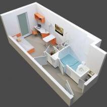 residence etudiante lyon 9 studio 9 vos studios tudiants lyon 9 me vaise. Black Bedroom Furniture Sets. Home Design Ideas