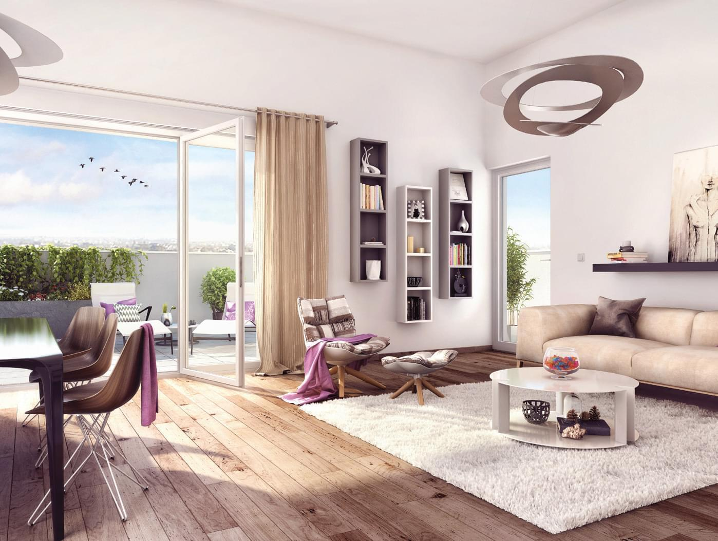 programme immobilier neuf lyon 9 saint rambert the house proche le barbe rue docteurs cordier. Black Bedroom Furniture Sets. Home Design Ideas