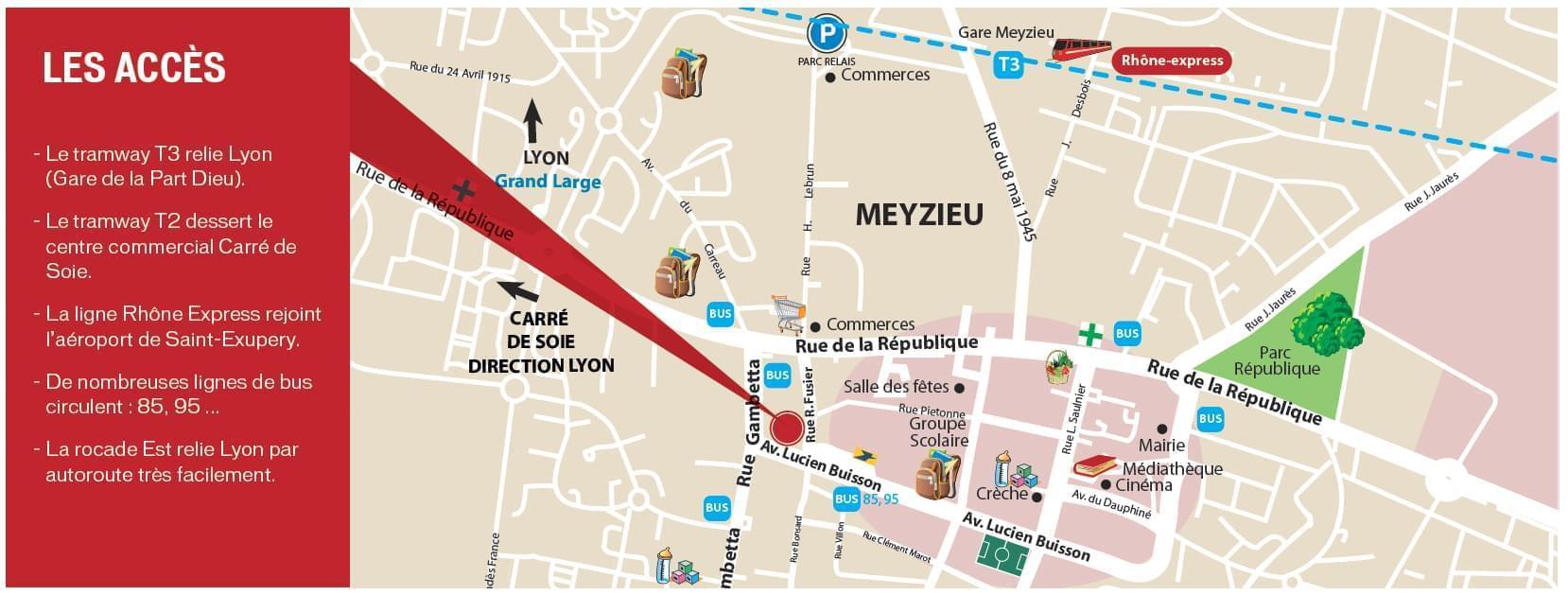 Immobilier neuf meyzieu nuanciel for Prix m2 meyzieu
