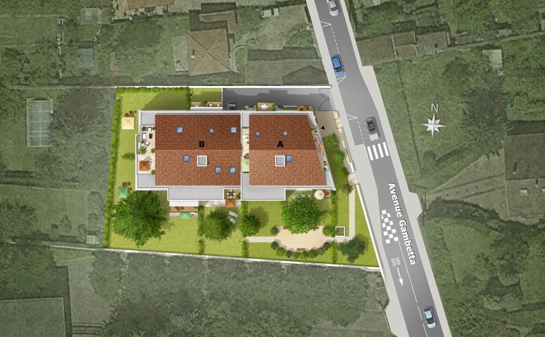 Résidence à Neuville sur Saône Proche des commodités, Prestations haut de gamme, Éligible Pinel,