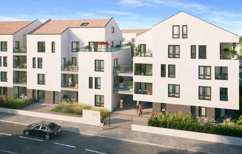 Programme immobilier neuf dans le centre de Neuville sur Saône / Achat immobilier sur programme Reflets de Saône