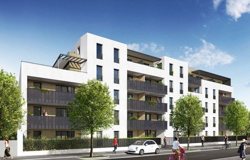 Nouvelle construction : 42 appartement neuf à Oullins, Silkéo à 10mn de la grande rue