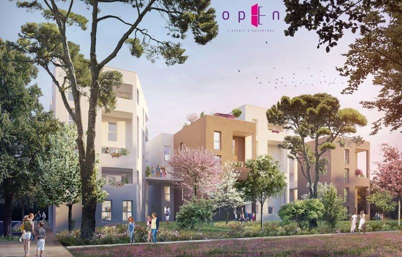 Plus d info sur la résidence Open à Rillieux la Pape