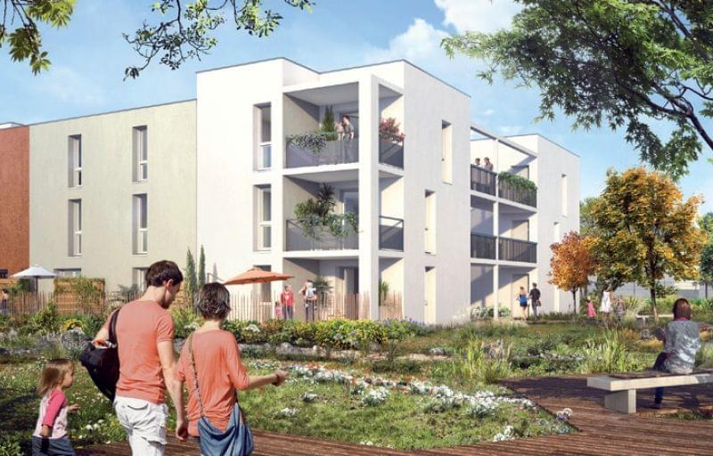 Immobilier neuf Saint Priest : Lumine et Sens, 39 appartements à la vente