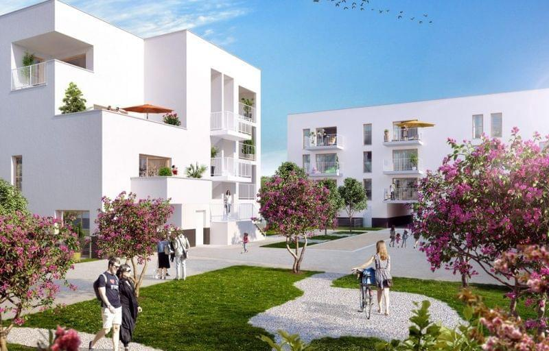 Immobilier neuf Parilly Saint Priest : projet moderne Scenar East