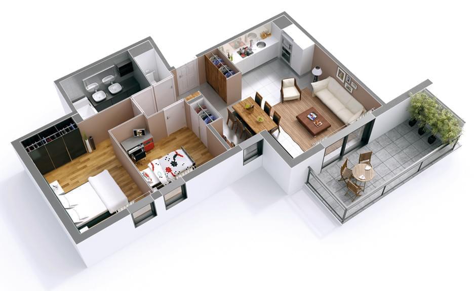 appartement neuf tassin la demi lune coeur de lune. Black Bedroom Furniture Sets. Home Design Ideas