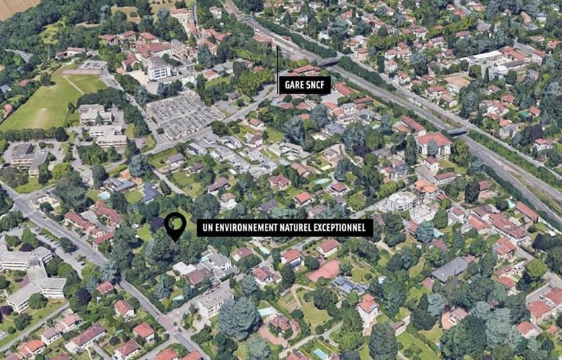 Résidence à Tassin la Demi Lune A 450m de la Gare, Arrêt de bus au pied de la résidence, Accès facile à l'A6 et la RN7, Nouvelle ligne Métro E,