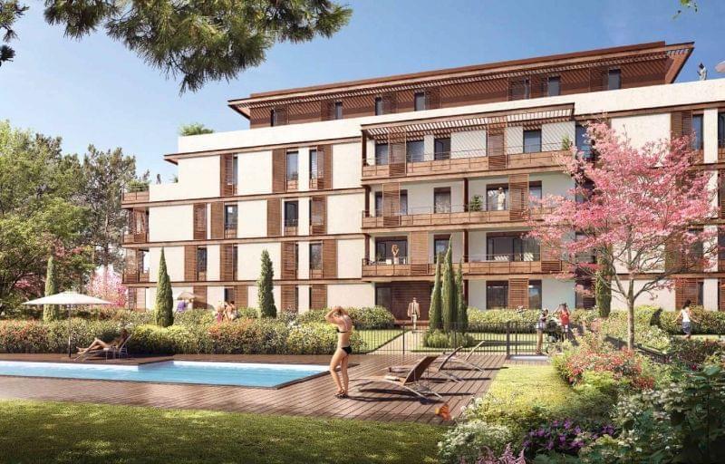 Immobilier neuf tassin la demi lune le jardin baccara for Appartement le jardin