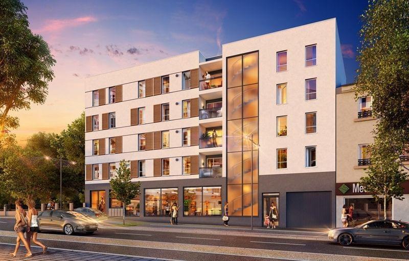 Programme immobilier neuf pas cher venissieux astr 39 home for Programme immobilier neuf