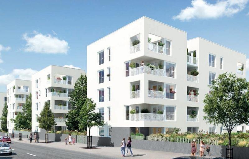 appartements neufs City Garden investissement loi Pinel Venissieux