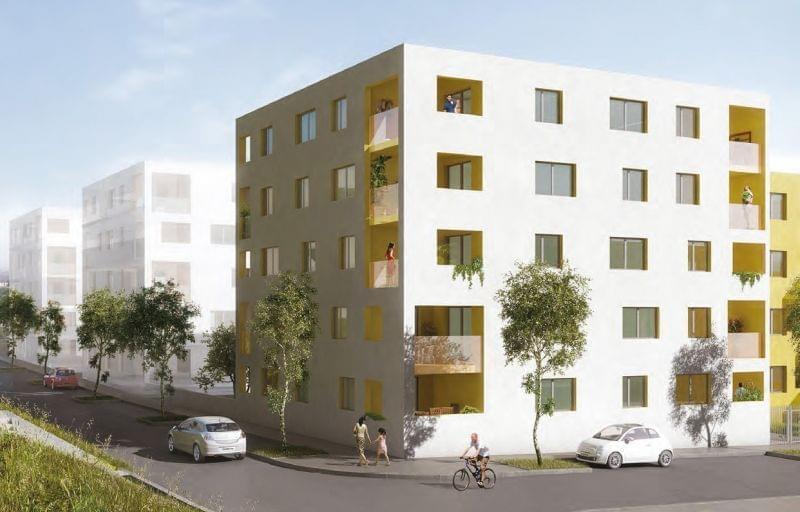 Programme neuf éligible plan 3A et TVA réduite Lyon Venissieux : Connect