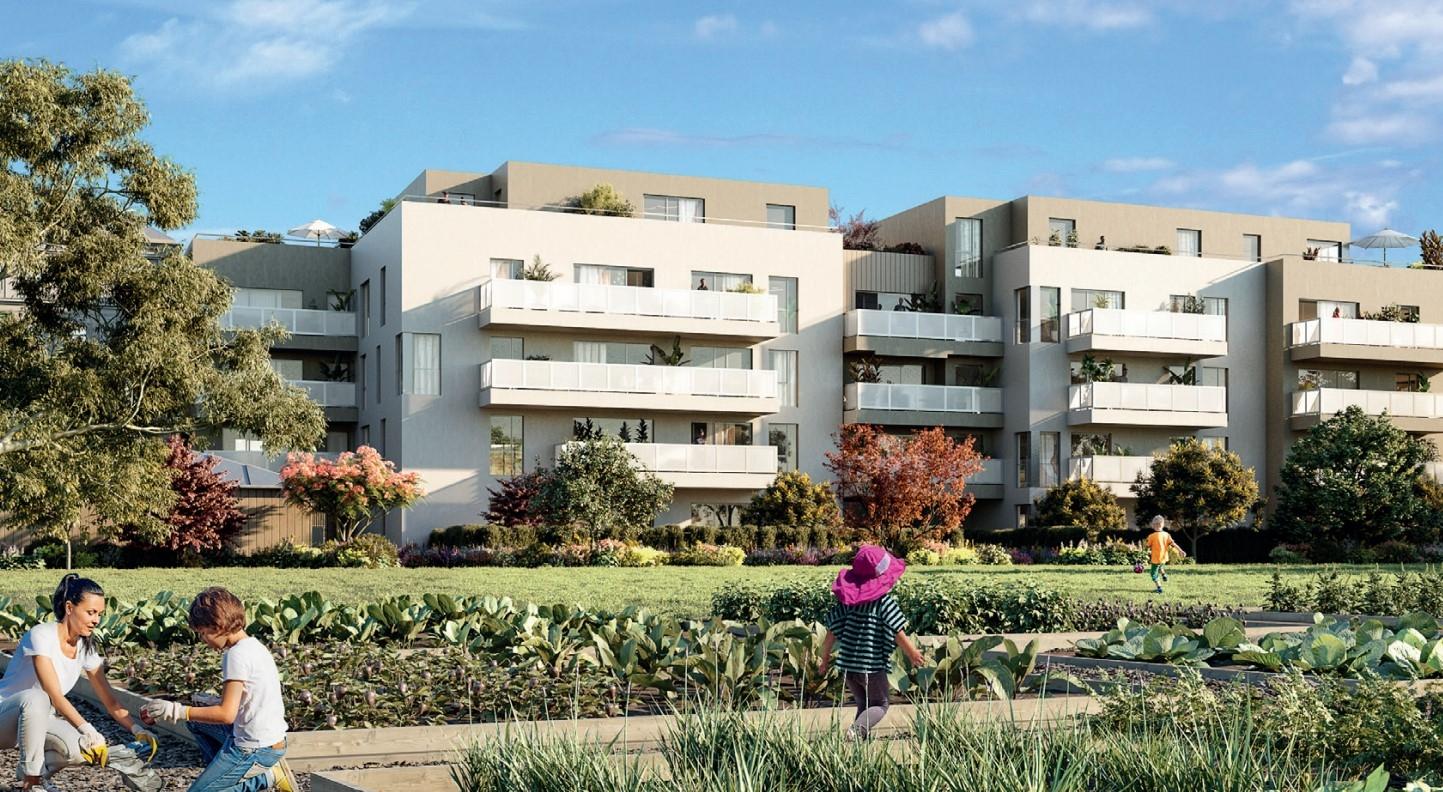 Résidence à Venissieux En limite de Lyon 8e, Proche transports en commun, Prestations de qualité,