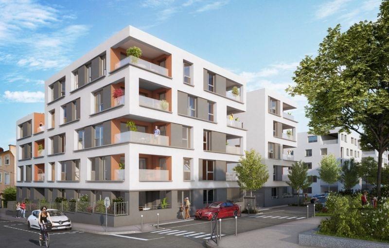 Plus d info sur la résidence Kubik Garden à Venissieux